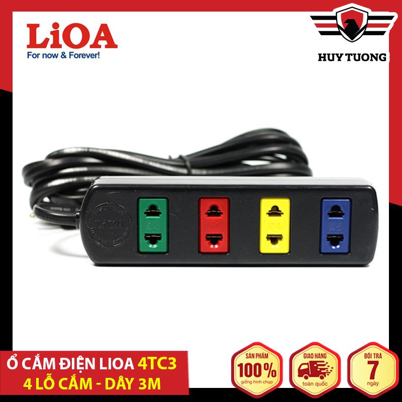 Ổ cắm có dây - Ổ điện an toàn - Ổ cắm điện đa năng - Ổ cắm điện Lioa ( 4 - 6 - 10 ổ cắm ) dây 5m và 3m Lioa - Betterlife