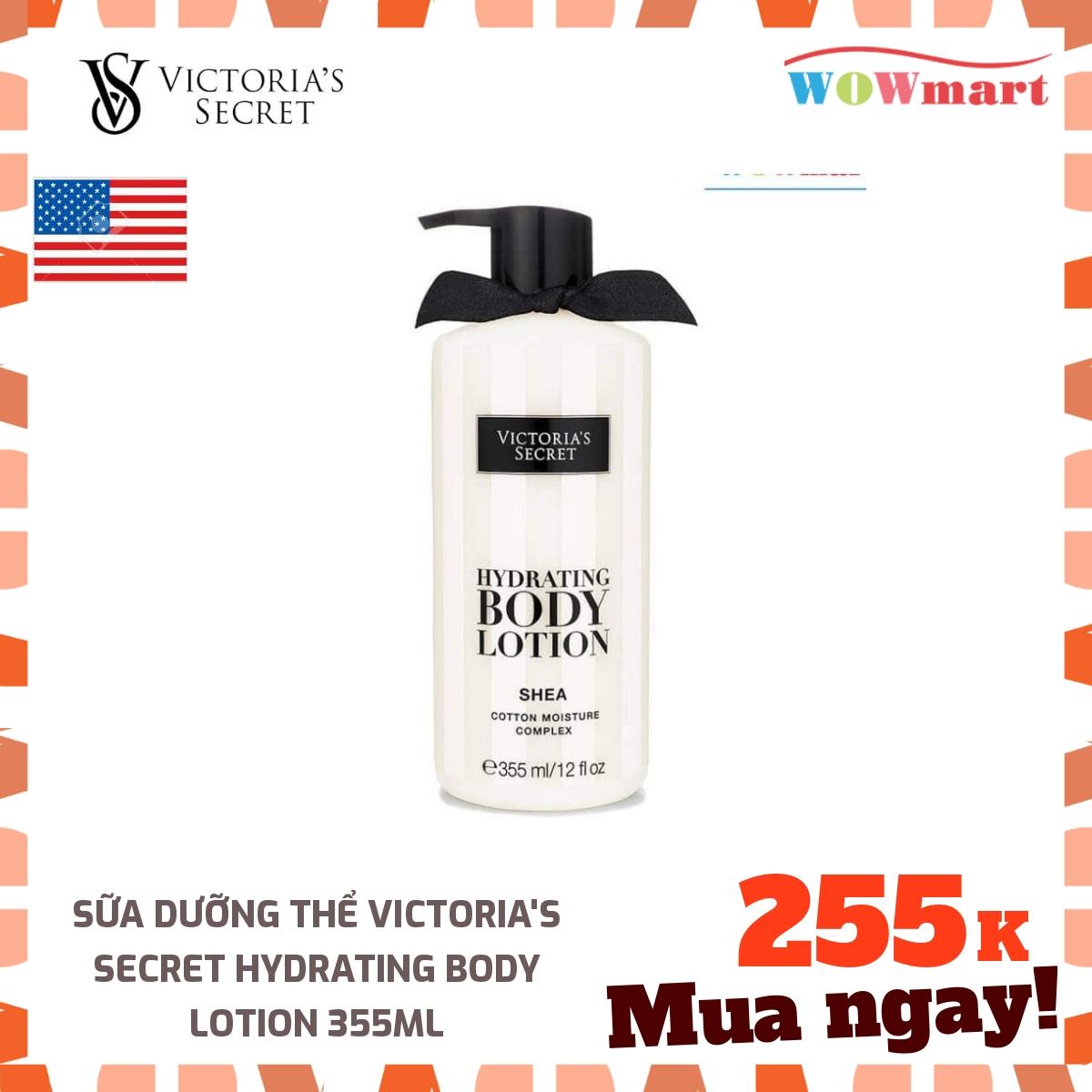 Sữa dưỡng thể Victoria's Secret Hydrating Body Lotion 355ml - [MỸ]