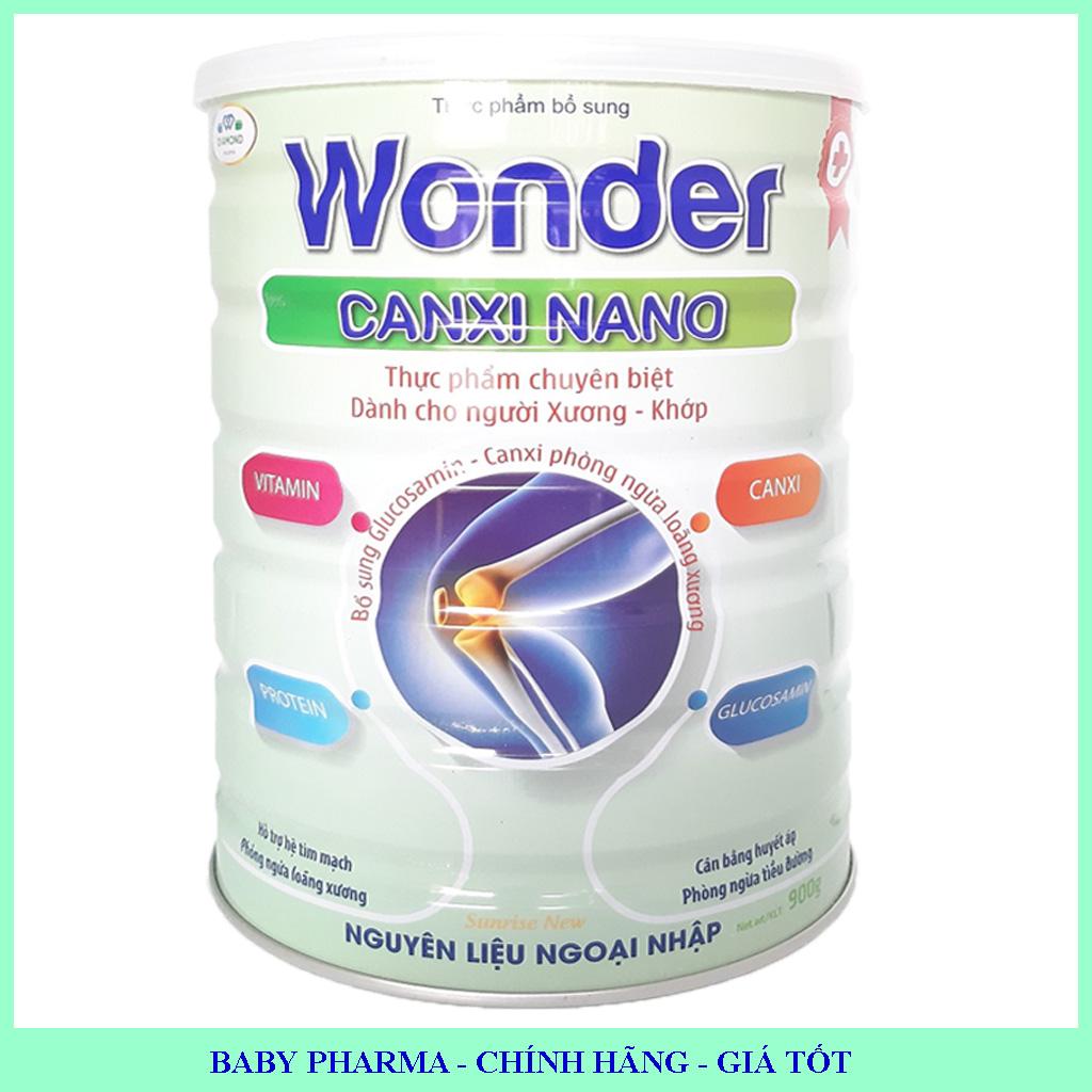 Sữa canxi nano, ngừa loãng xương Wonder Nano Canxi 900g