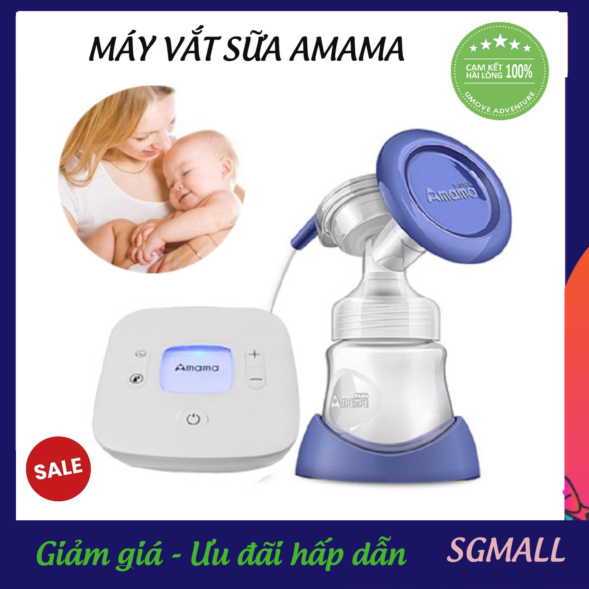 Máy hút sữa an toàn cho mẹ, Nên Mua Máy vắt sữa loại nào tốt, Mua ngay Máy hút sữa Amama cao cấp bán chạy 2019. Dễ dàng vệ sinh. Đạt tiêu chuẩn an toàn, hút đều sữa. Bảo hành 12 tháng
