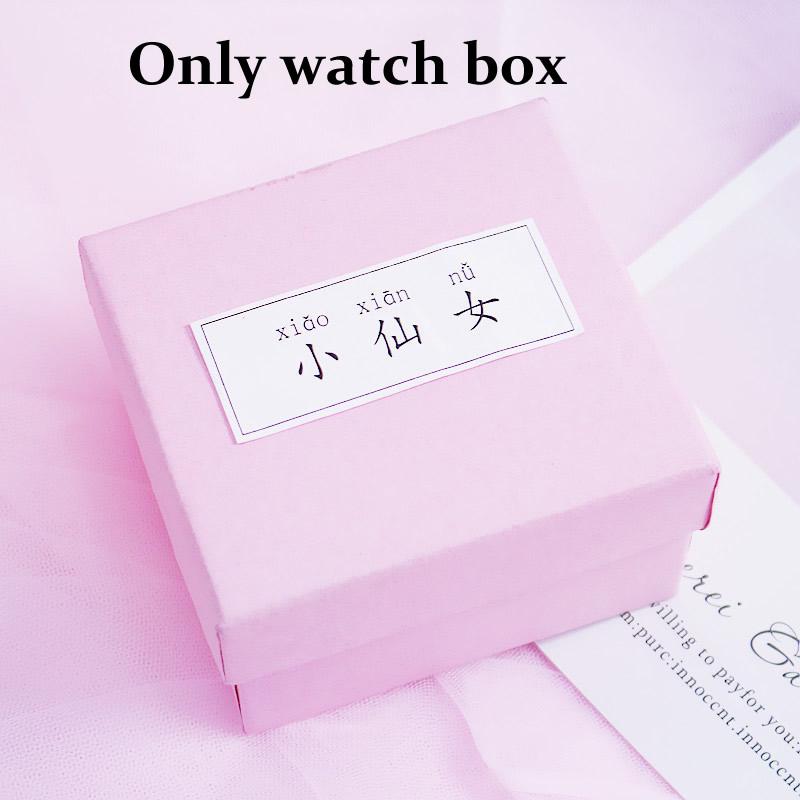 [Hot Bán] Eooshop Tiên hồng Gift Box trí Box Bracelet Box Xem Box Birthday Gift Box 2021 New 6