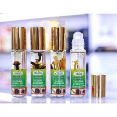 3 chai Dầu gió thảo dược Green Herb oil Thailand 8ml DLSTL01