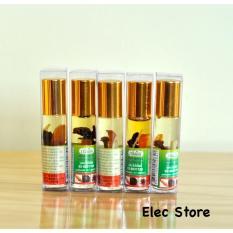 5 chai Dầu Gió Thảo Dược Green Herb Oil Thailand