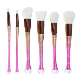 6PCS Cosmetic Contour Foundation Kabuki Blush Collection Makeup Brushes - intl