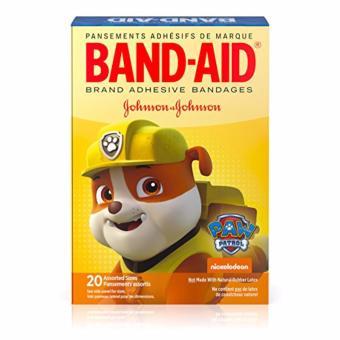Băng keo cá nhân 20 miếng Band-Aid Nickelodeon Paw Patrol Rubble