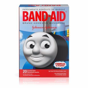 Băng keo cá nhân trẻ em 20 miếng Band-Aid Thomas and Friends