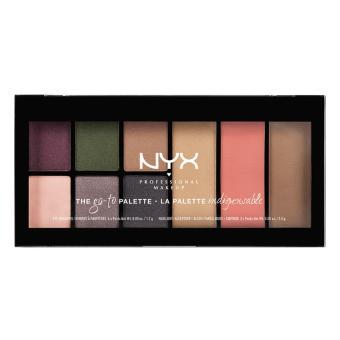 Bảng màu trang điểm NYX Professional Makeup Go-To Palette GTP02 BonVoyage
