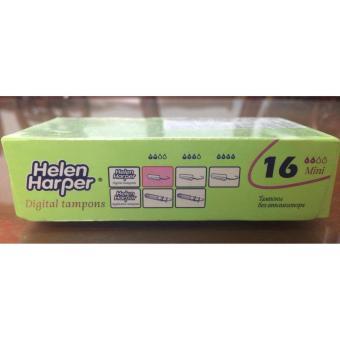 Băng vệ sinh dạng ống không cần đẩy Tampon Mini (16), đặt bên trongcó bề mặt bằng cotton mềm, thấm hút tốt (Helen Harper-Bỉ) - 8179556 , HE620HBAA6W0UAVNAMZ-12644764 , 224_HE620HBAA6W0UAVNAMZ-12644764 , 136000 , Bang-ve-sinh-dang-ong-khong-can-day-Tampon-Mini-16-dat-ben-trongco-be-mat-bang-cotton-mem-tham-hut-tot-Helen-Harper-Bi-224_HE620HBAA6W0UAVNAMZ-12644764 , lazada.vn ,