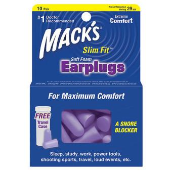 Bộ 10 cặp nút tai chống ngáy Mack