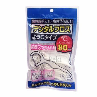 Bộ 160 Cây tăm chỉ nha khoa Kichilachi - Sạch miệng ngừa sâu răng