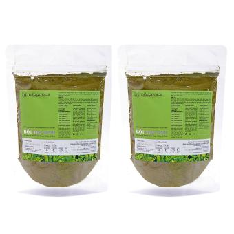 Bộ 2 bột trà xanh Milaganics 100g