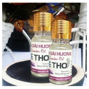 Bộ 2 chai tinh dầu Oải Hương Bé Thơ 10ml (Lavender)