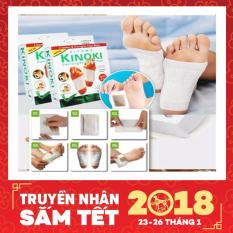 Bộ 20 miếng dán giải độc massage chân Kinoki cao cấp ( Có clip ) - Huy Tưởng