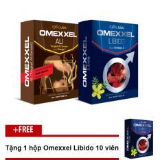 Bộ Đôi Tăng Cường Sinh Lý Và Sức Khỏe Nam Giới Toàn Diện Omexxel Ali & Omexxel + Tặng 1 Hộp Omexxel 10 Viên trị giá 210.000đ