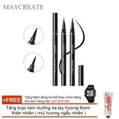 Giá bán Bút lông kẻ mắt Maycreate ( 0.6ml ) + Tặng tuýp kem dưỡng da tay hương thơm thiên nhiên ( mùi hương ngẫu nhiên )