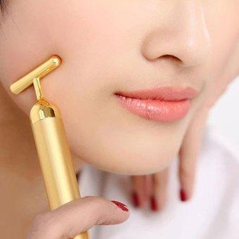 Cây lăn massage mặt làm trẻ hóa làn da - LD031