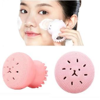 Combo 2 Rửa mặt, Mát xa mặt với Dụng cụ chăm sóc da mặt của HànQuốc - Làm sạch, Mềm da. Kiểu dáng Bạch Tuộc