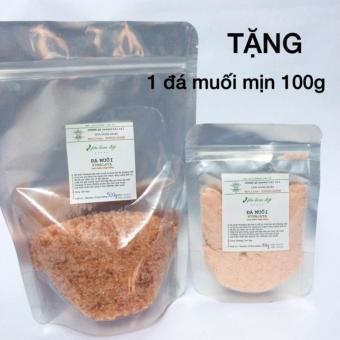 Đá muối hymalaya hạt 500g tặng đá muối hymalaya mịn 100g