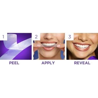 Dán trắng răng Crest 3D White Supreme Flexfit siêu mạnh USA (14 miếng) - 3