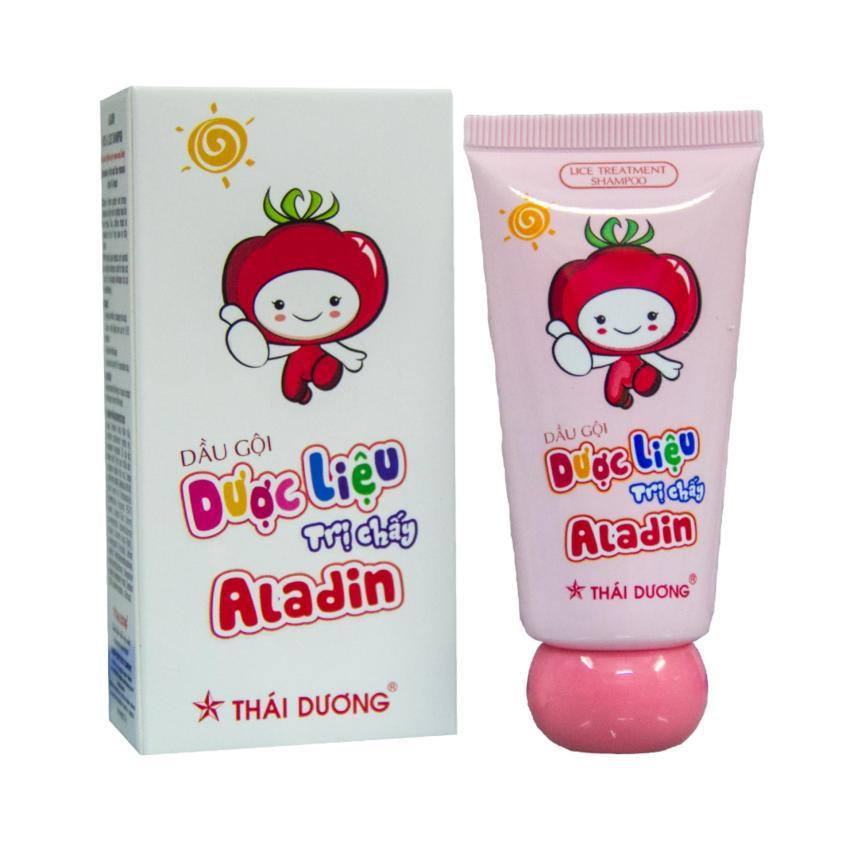 Dầu gội dược liệu trị chấy Aladin 30gram