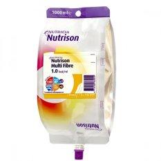 Dinh dưỡng ăn qua ống thông Nutricia Nutrison Multi Fibre 1000ml kèm dây truyền