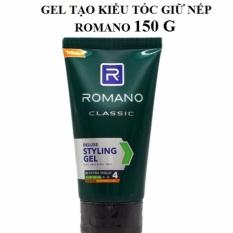 Gel tạo kiểu tóc  giữ nếp Romano 150 g