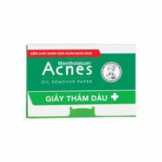 Acnes Oil Remover Paper (100 pieces/box)