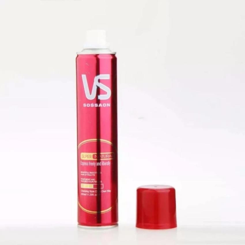 Gôm xịt tóc tạo kiểu VS + Tặng kèm sáp vuốt tóc tạo kiểu
