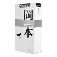 Nơi Bán Hộp 10 bao cao su Nhật Bản Okamoto Skinless Skin Purity(Phân phối bởi: YTELOC)