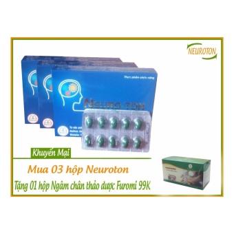 Bổ Não Đau Đầu Mất Ngủ Neuroton (3 hộp)