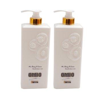 Bộ 2 chai sữa tắm OMIO 800ml (Trắng)