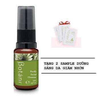 Sữa Rửa Mặt Cho Mọi Loại Da Botani Purify Facial Cleanser 15ml + Tặng 2 Sample Dưỡng Da