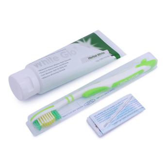 Bộ Kem đánh răng làm trắng thảo mộc White Glo Herbal Fresh 150g