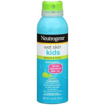 Xịt chống nắng trẻ em Neutrogena Wet Skin Kids Sunscreen Spray 141g