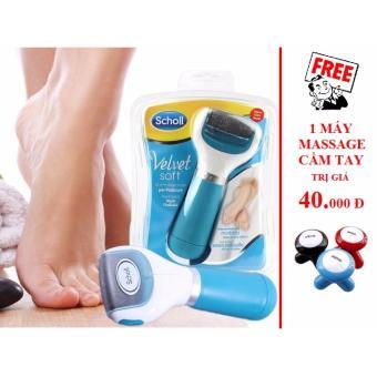 Máy chà gót chân VELVET SMOOTH + Tặng 1 máy massage cầm tay MIMO