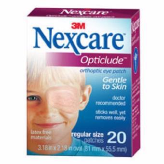 Hộp 20 miếng băng dán mắt 20 miếng dùng cho trẻ em (cỡ lớn)