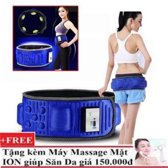 Đai Mát Xa Giảm Béo Bụng X5 + Tặng Máy massage mặt Y1200 HÀNG NHẬP