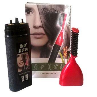 Bộ nhuộm tóc kèm lược thông minh GUYAO 100ml (Đen)