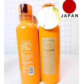 Bộ 2 Nước Súc Miệng Propolinse Nhật Bản Chiết Xuất Từ Trà Xanh 600Ml
