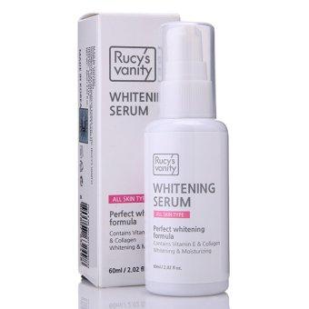 Tinh Chất Dưỡng Trắng Da Rucy's vanity Whitening Serum Vitamin E Collagen 60ml