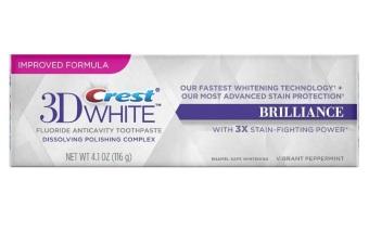 Kem đáng trắng răng Crest 3D White Brilliance 116g