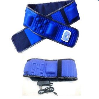 Bộ 2 sản phẩm đại massage giảm mỡ bụng X5 (Xanh dương)