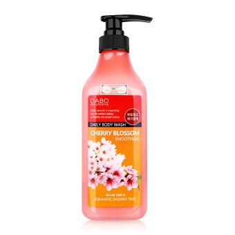 Sữa tắm Hoa anh đào nuôi dưỡng và trẻ hóa làn da Cao cấp Hàn Quốc 750ml - Hàng Chính Hãng