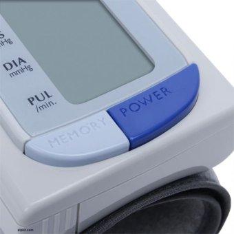 Máy đo huyết áp cổ tay tự động ALPK2 WS 910 (Trắng)