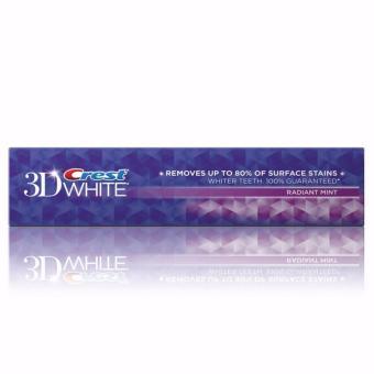 Kem đánh răng trắng răng Crest 3D Radiant mint 181g