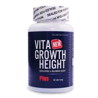 Bộ 2 Viên tăng chiều cao Vita Growth Height 60 viên + Tặng 1 sản phẩm cùng loại