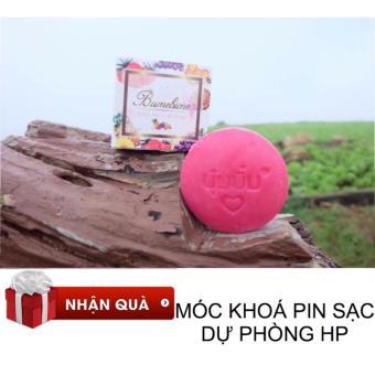 Xà bông kích trắng BUMEBIME Thái Lan + MÓC KHOÁ PIN STYLE PIN SẠC DỰ PHÒNG