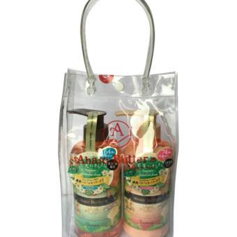 Bộ Quà Tặng Dầu Gội Dầu Xả Sạch Gàu Ahalo Butter Premium Scalp Ahalo Butter- Nhật Bản