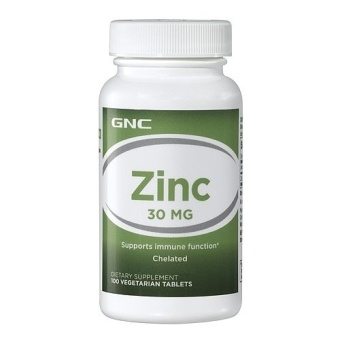 Viên uống bổ sung kẽm GNC ZINC 30 100 viên
