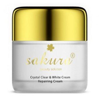 Kem dưỡng trắng và phục hồi da ban đêm Sakura 35g